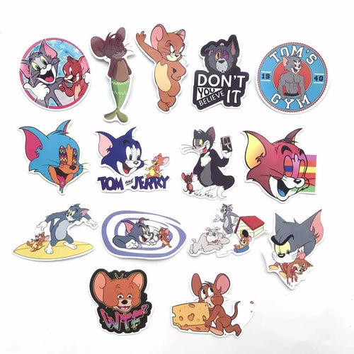 Tom and Jerry Stickers Favors