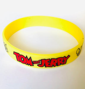 Tom and Jerry Party Favors Wristbands 8 piece, Birthday Party Supplies