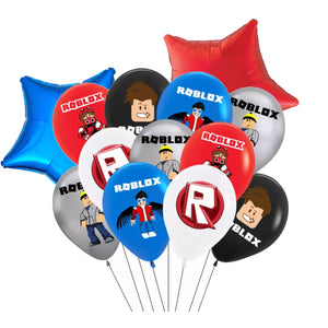 Roblox Birthday Party Balloons, 12 Piece Set Ensemble SET#A