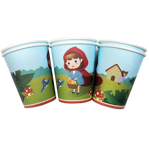 Little Red Riding Hood Party Cups, 8ct