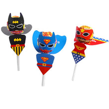 Load image into Gallery viewer, Superhero Lollipop Covers, 12pc
