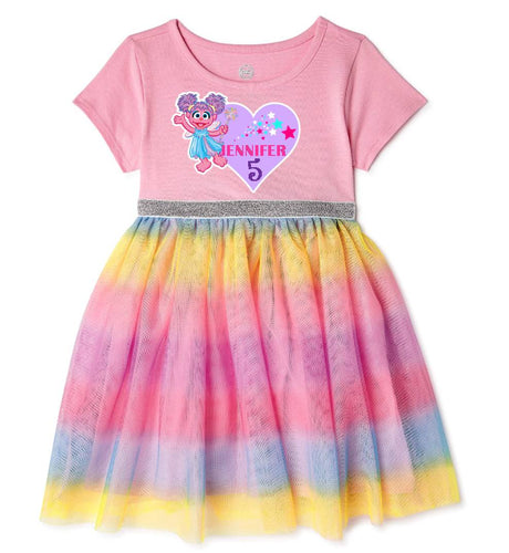 Abby Caddaby Baby Girl Birthday Dress