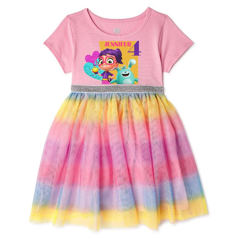 Abby Hatcher Birthday Party Dress