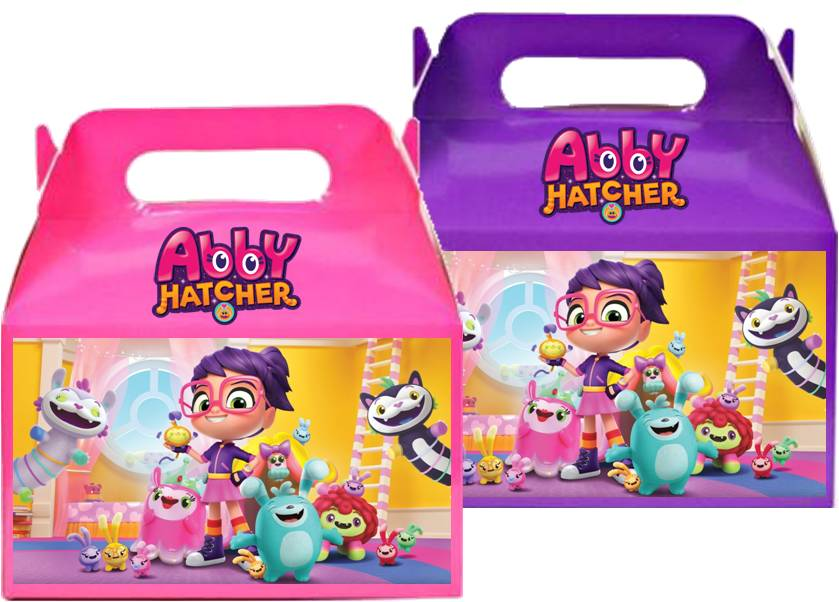 Abby Hatcher Favor Treat Boxes