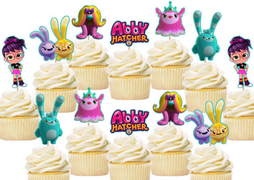 Abby Hatcher Cupcake Toppers