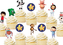 Load image into Gallery viewer, Little Baby Bum Cupcake Toppers, Party Supplies