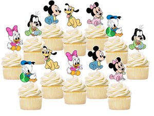 Disney Babies Cupcake Toppers, Party Supplies