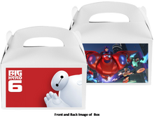 Load image into Gallery viewer, Baymax Big Hero Treat Boxes, Favor Boxes, 8ct