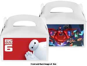 Baymax Big Hero Treat Boxes, Favor Boxes, 8ct