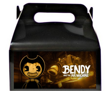 Load image into Gallery viewer, Bendy And The Ink Machine Treat Favor Boxes