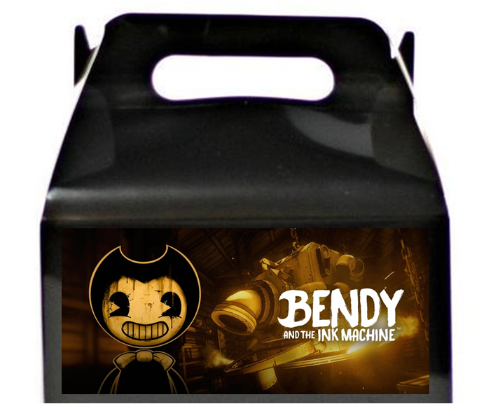 Bendy And The Ink Machine Treat Favor Boxes
