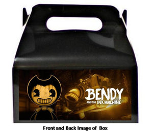 Bendy And The Ink Machine Favor Treat Boxes 8ct