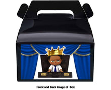 Load image into Gallery viewer, Afro Boss Baby Boy Treat Favor Boxes 8ct