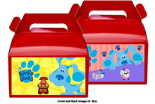 Load image into Gallery viewer, Blues Clues Treat Favor Boxes 8ct