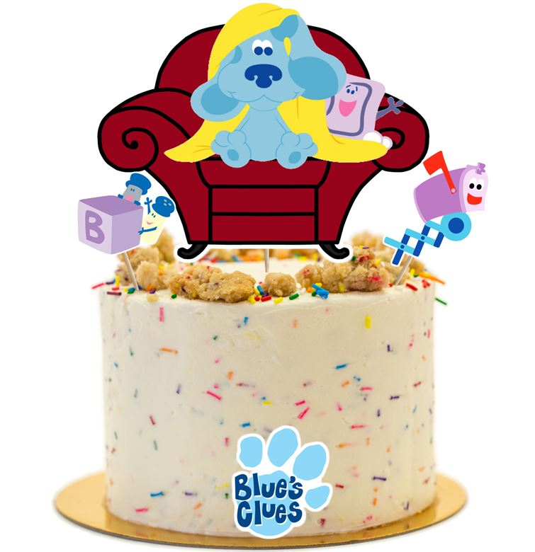 Blues Clues Cake Topper, Decorations