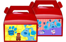 Load image into Gallery viewer, Blues Clues Treat Favor Boxes, Party Supplies