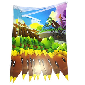 Plants vs Zombies Party Banner, 8ft