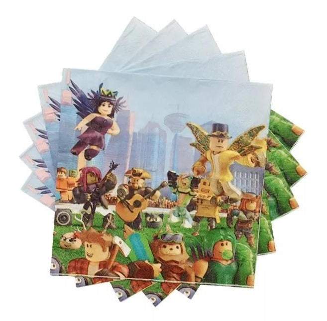 Roblox Party Napkins