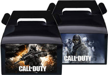 Load image into Gallery viewer, Call of Duty Treat Favor Boxes, Party Supplies
