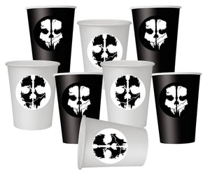Call of Duty party paper cups