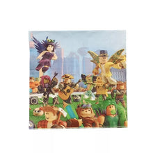 Load image into Gallery viewer, Roblox Party Luncheon Napkins, 10ct
