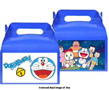 Load image into Gallery viewer, Doraemon Treat Favor Boxes 8ct