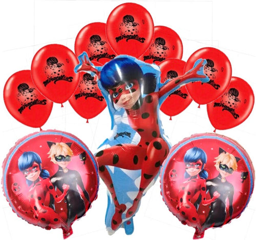 Miraculous Balloons, Party Supplies Decorations