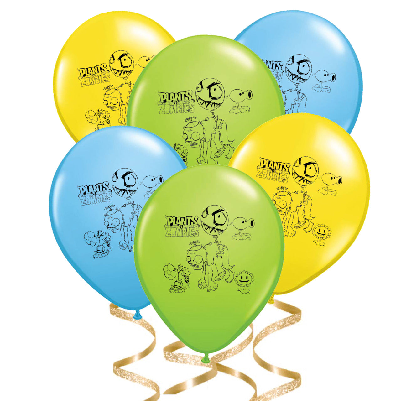 Plants vs Zombies Party Balloons