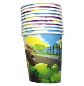Plants vs Zombies Party Paper Cups 10ct