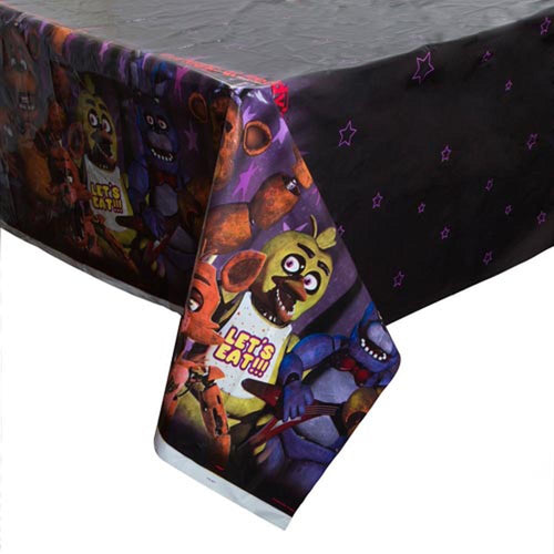 Five Nights At Freddys Tablecover, Party Supplies