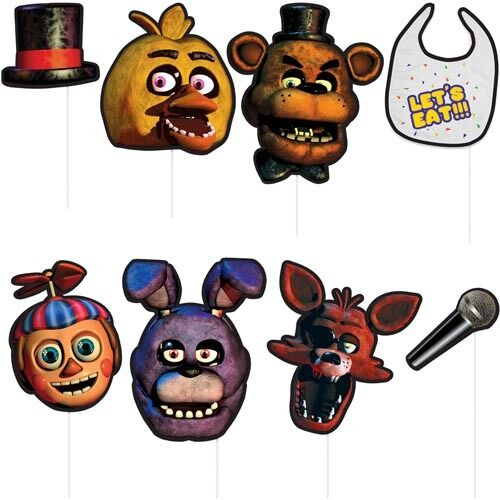 Five Nights at Freddy's Photo Booth Props,