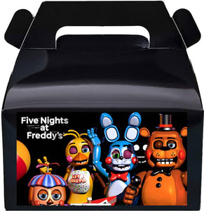 Five Nights at Freddys Candy Favor Box
