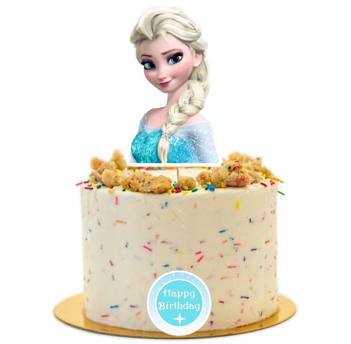 Frozen cake topper, birthday party supplies