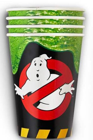 Ghostbusters Party supplies cups