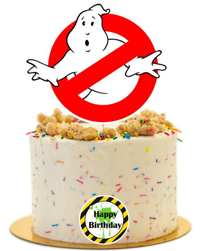 Ghostbusters cake topper, decorations party supplies