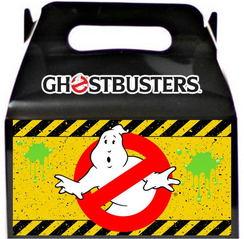 Ghostbusters Treat Favor Boxes, Party Supplies