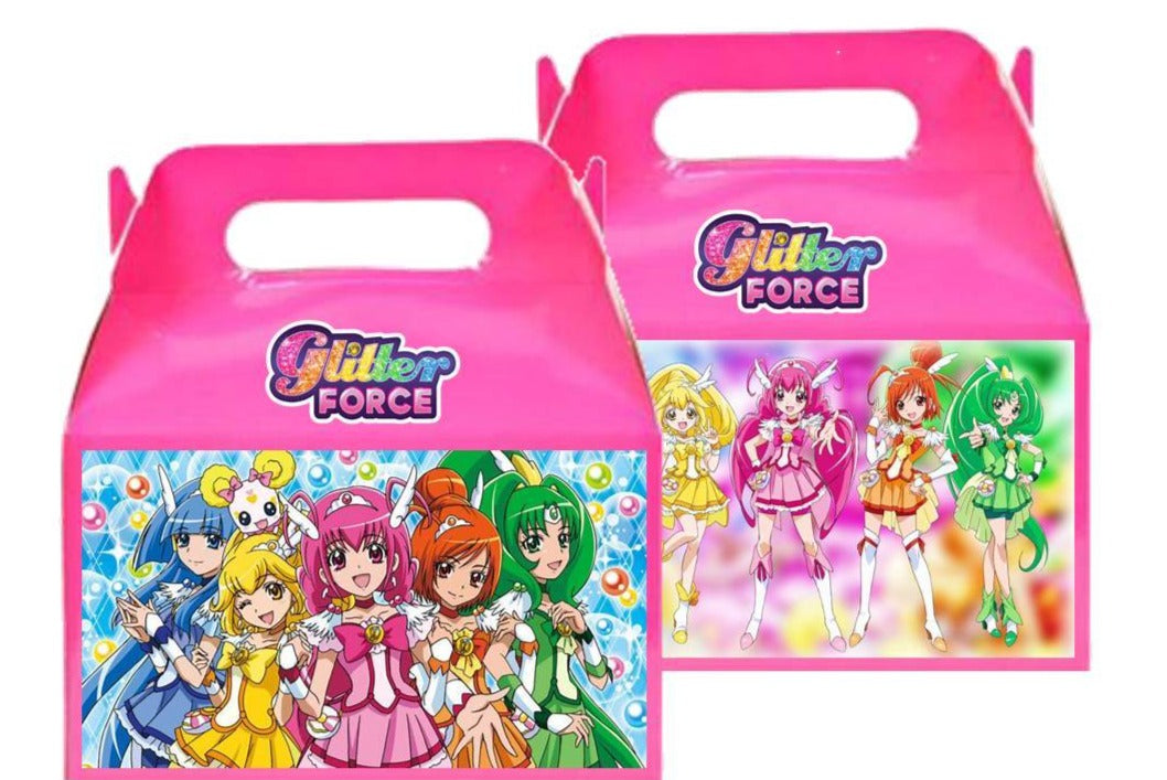 Glitter Force Favor Candy Boxes