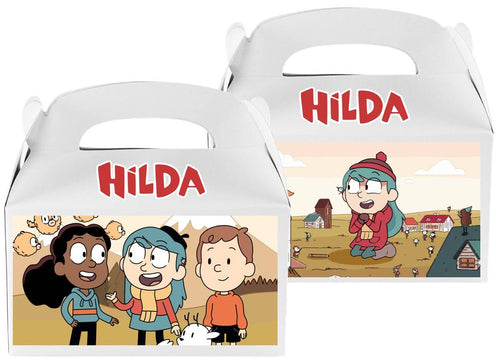 Hilda Favor Treat Candy Boxes