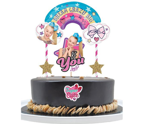Jojo Siwa Cake Topper, Party Supplies