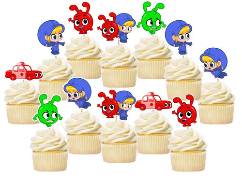 Morphle Cupcake Toppers