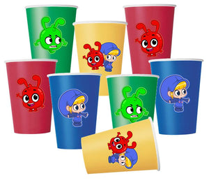 Morphle Party Paper Cups