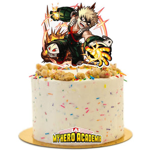 My Hero Academia Cake Topper