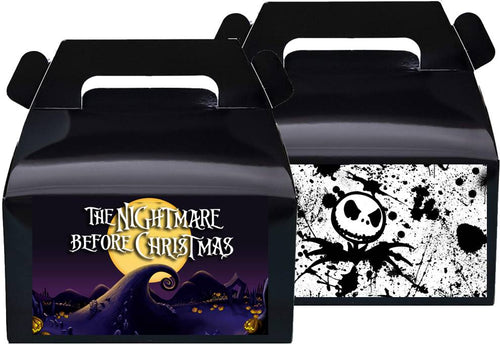 Nightmare Before Christmas Treat Favor Boxes, Party Supplies