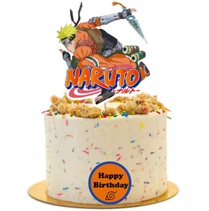 Naruto Birthday Cake Topper