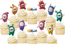 Load image into Gallery viewer, Oddbods Cupcake Toppers