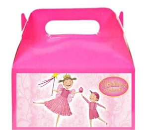Pinkalicious treat favor boxes, party supplies