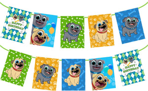 Puppy Dog Pals Birthday Banner