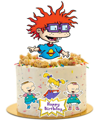 Rugrats cake topper, cake decorations