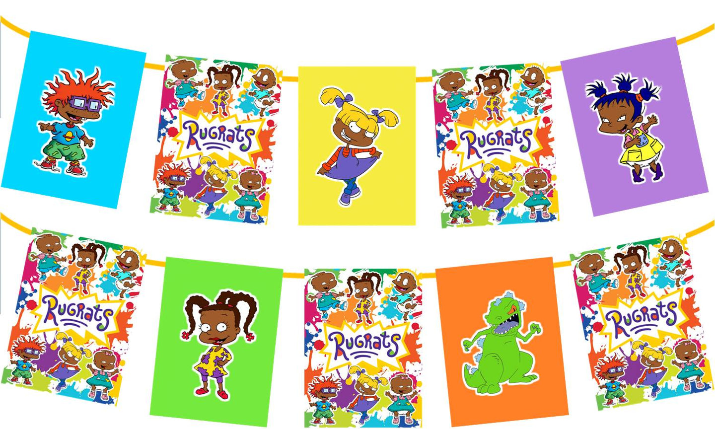 African American Rugrats Banner
