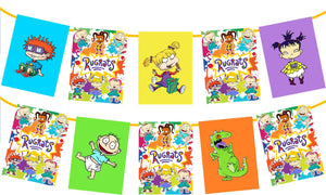 Rugrats Birthday Party Banner